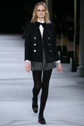 Hanne Gaby Odiele - Saint Laurent Fall 2014