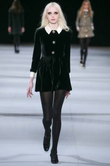Esmeralda Seay-Reynolds - Saint Laurent Fall 2014