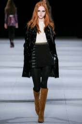 Madison Stubbington - Saint Laurent Fall 2014