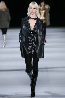 Lili Sumner - Saint Laurent Fall 2014