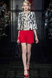 Agata Rudko - Armani Privé Fall 2014 Couture
