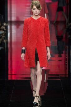 Emmy Rappe - Armani Privé Fall 2014 Couture