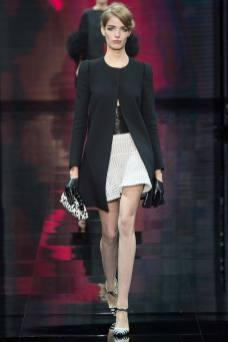 Alisa Ahmann - Armani Privé Fall 2014 Couture