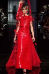 Daria Strokous - Armani Privé Fall 2014 Couture