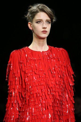 Josephine van Delden - Armani Privé Fall 2014 Couture