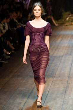 Tilda Lindstam - Dolce & Gabbana 2014 Sonbahar-Kış Koleksiyonu