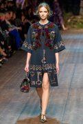 Roberta Cardenio - Dolce & Gabbana 2014 Sonbahar-Kış Koleksiyonu