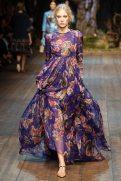 Charlene Högger - Dolce & Gabbana 2014 Sonbahar-Kış Koleksiyonu