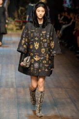 Ji Hye Park - Dolce & Gabbana 2014 Sonbahar-Kış Koleksiyonu
