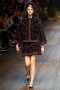 Joanna Tatarka - Dolce & Gabbana 2014 Sonbahar-Kış Koleksiyonu