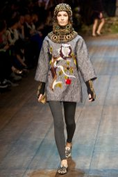 Ophelie Guillermand - Dolce & Gabbana 2014 Sonbahar-Kış Koleksiyonu