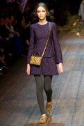 Paulina King - Dolce & Gabbana 2014 Sonbahar-Kış Koleksiyonu