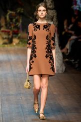 Ieva Palionyte - Dolce & Gabbana 2014 Sonbahar-Kış Koleksiyonu