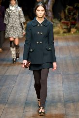 Charlotte Wiggins - Dolce & Gabbana 2014 Sonbahar-Kış Koleksiyonu