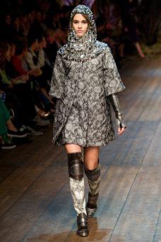 Pauline Hoarau - Dolce & Gabbana 2014 Sonbahar-Kış Koleksiyonu