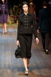 Sabrina Ioffreda - Dolce & Gabbana 2014 Sonbahar-Kış Koleksiyonu