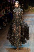 Alana Zimmer - Dolce & Gabbana 2014 Sonbahar-Kış Koleksiyonu