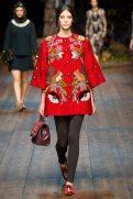 Carla Ciffoni - Dolce & Gabbana 2014 Sonbahar-Kış Koleksiyonu