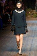 Hedvig Palm - Dolce & Gabbana 2014 Sonbahar-Kış Koleksiyonu