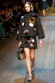 Irina Liss - Dolce & Gabbana 2014 Sonbahar-Kış Koleksiyonu