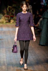 Elodia Prieto - Dolce & Gabbana 2014 Sonbahar-Kış Koleksiyonu