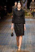 Gabby Westbrook-Patrick - Dolce & Gabbana 2014 Sonbahar-Kış Koleksiyonu