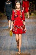 Xiao Wen Ju - Dolce & Gabbana 2014 Sonbahar-Kış Koleksiyonu