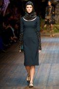 Nicole Pollard - Dolce & Gabbana 2014 Sonbahar-Kış Koleksiyonu