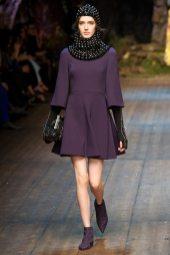 Josephine van Delden - Dolce & Gabbana 2014 Sonbahar-Kış Koleksiyonu
