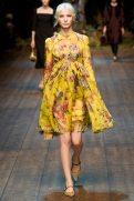 Anna Piirainen - Dolce & Gabbana 2014 Sonbahar-Kış Koleksiyonu