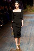 Vittoria Ceretti - Dolce & Gabbana 2014 Sonbahar-Kış Koleksiyonu