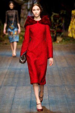 Lera Tribel - Dolce & Gabbana 2014 Sonbahar-Kış Koleksiyonu