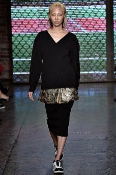 Soo Joo Park - DKNY Spring 2015