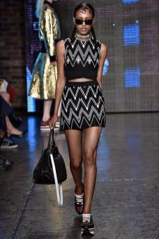 Alewya Demmisse - DKNY Spring 2015