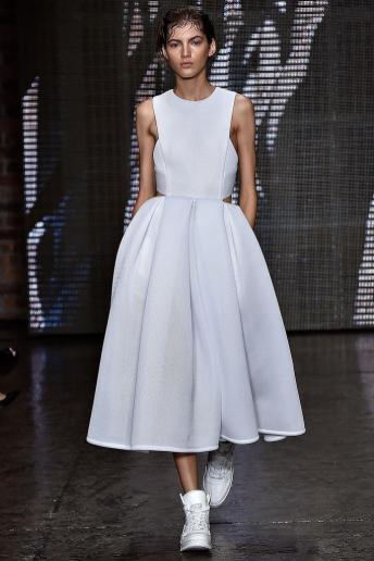 Valery Kaufman - DKNY Spring 2015