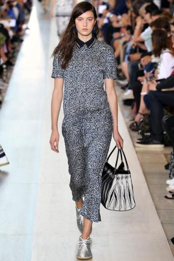 Matilda Lowther - Tory Burch Spring 2015