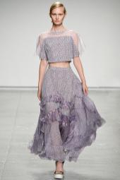 Ksenia Malanova - Rebecca Taylor Spring 2015