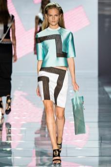 Anna Ewers - Versace Spring 2015