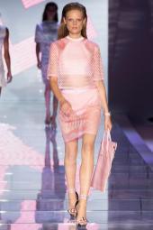 Hanne Gaby Odiele - Versace Spring 2015