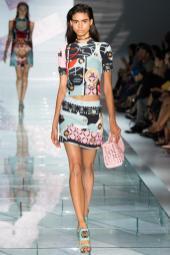 Mariana Santana - Versace Spring 2015