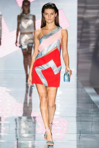 Isabeli Fontana - Versace Spring 2015
