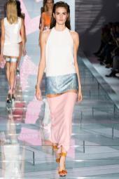 Vanessa Moody - Versace Spring 2015