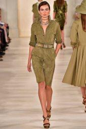 Andreea Diaconu - Ralph Lauren Spring 2015