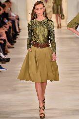 Mila Krasnoiarova - Ralph Lauren Spring 2015