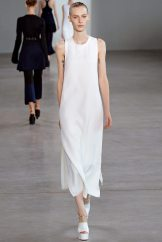 Julia Nobis - Calvin Klein Collection Spring 2015