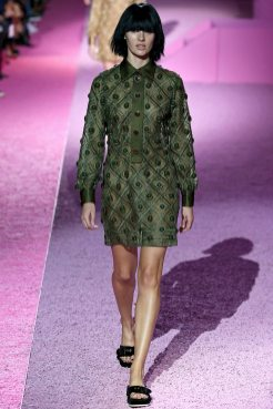 Candice Swanepoel - Marc Jacobs Spring 2015