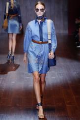 Daria Strokous - Gucci Spring 2015
