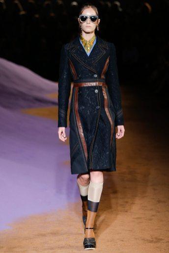 Irina Liss - Prada Spring 2015