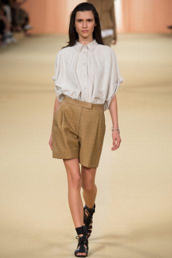 Iana Godnia - Hermès Spring 2015