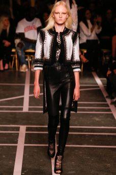 Maja Salamon - Givenchy Spring 2015